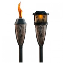 Solar Multi Use Garden Torches Set of 2 Pcs