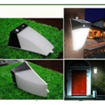 Solar Warning Motion Garden Light