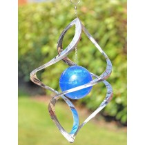 Spinner Shaped Hanging Garden Weathervanes