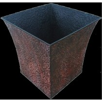 Metal Square 11 Inch Flower Pot Planter