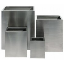 Square Metal Planter Set of 4 Pcs