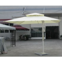 Square Side-pole Aluminum Umbrella(Specification 4×4 m )