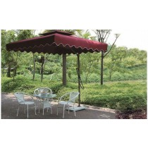 Square Side-pole Iron Umbrella