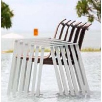 Stackable Chair Dining Set