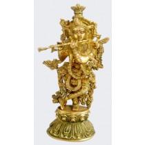 Standing Krishna Statue, 20 Inches