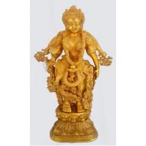 Standing Radha Statue, 25 Inches