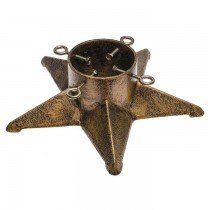 Star Design Cast Iron Christmas Tree Stand