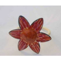 Star multi color shade Iron Napkin Ring