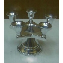 Star Shape 5 Arm Candle Stand
