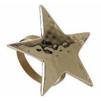 Star Shape Gold Napkin Ring