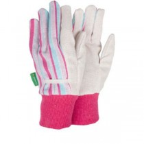 Strip Design Garden Gloves