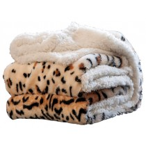 Stylish Animal Print Contemporary Style Throw