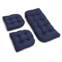 Stylish Azul 3 Piece U Shaped Cushion Set