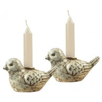 Stylish Bird Design Candle Holder