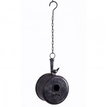 Stylish Black Hanging Bird House