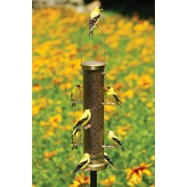 Stylish Brass 15 Inch Bird Feeder