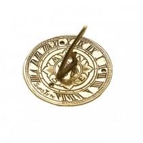 Stylish Brass Polished Garden Sundial