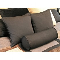 Stylish Cotton Black Cushion
