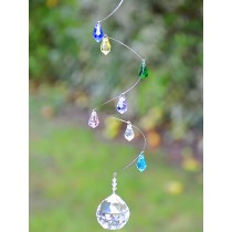 Stylish Drop Crystals Hanging Sun Catcher