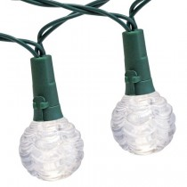 Stylish Green Globe LED String Lights