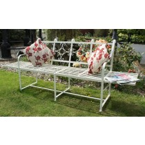 Stylish Handmade Iron Garden Bench