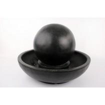 Stylish Led Lighting Grey Finish Ball Fountain
