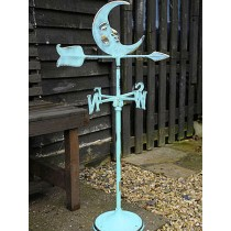 Stylish Metal Moon Design Weathervanes