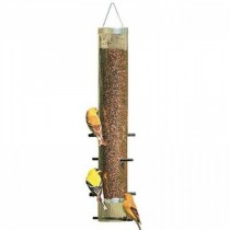 Stylish Plastic Hanging Tube Bird Feeder