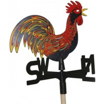 Stylish Plastic Rooster Weathervanes