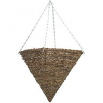Stylish Pyramid Hanging Planter With Steel Chain