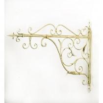 Stylish Scroll Design Hanging Basket Bracket