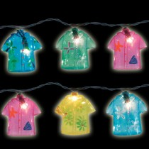 Stylish Shirt Design Multi Color String Light Set