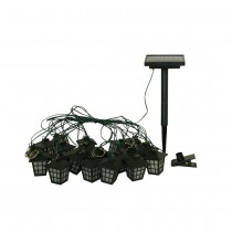 Stylish Solar Lantern String Light Set with Stake