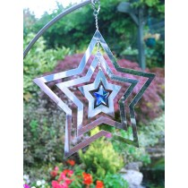 Stylish Star Crystal Weathervanes