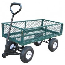 Stylish Steel Mesh Garden Wheel Barrow