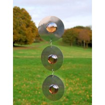 Stylish Stone Circle Chain Hanging Sun Catcher