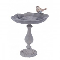 Sunflower Design Hand Cast Aluminium Bird Bath