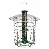 Sunflower Designed Domed Bird Feeder