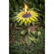 Sunflower Garden Torch 32 Inch Height