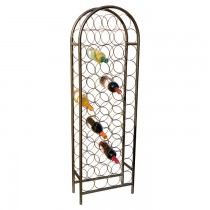Superior Quality Metal 47 Bottle Wine Rack