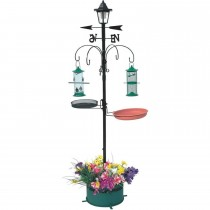 Superior Quality Metal Bird Feeding Station Set