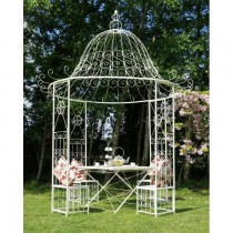 Superior Quality Metal Gazebo With Table