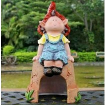 Sweet Girl Garden Sculpture