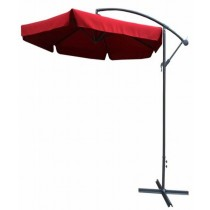 T Cross Base Size : 300CM x 6 Ribs Garden Umbrella