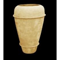 Tall Artificial Sandstone Simple Flowerpot
