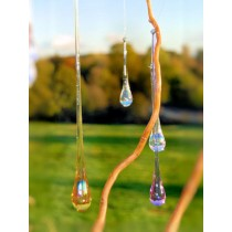 Tear Drop Glass Hanging Sun Catchers