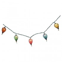 Tear Drop Plastic Cover String Light Set
