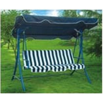 Three Seat Blue  Garden Swing Chair