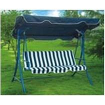 Three Seat Blue  Garden Swing Chair