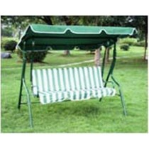 Three Seat Green Garden Swing Chair